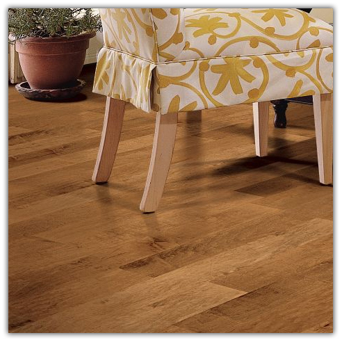 Maple Plank Floor