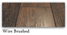 Wire Brushed Distressed Wood Flooring